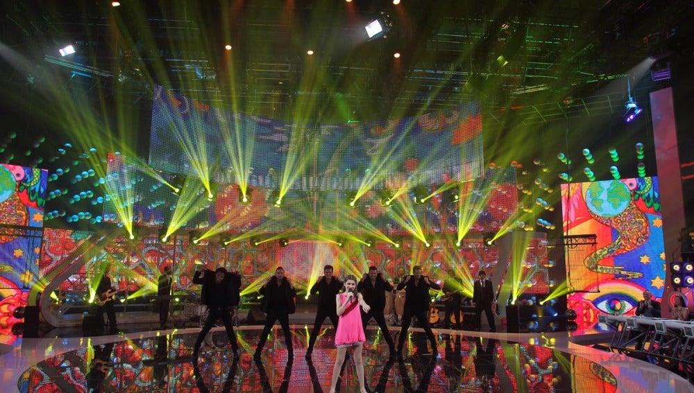Amaia en la Gala 3