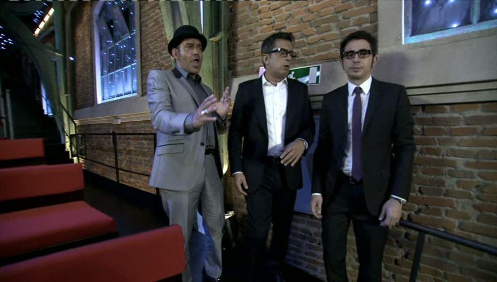 Corbacho, Andreu y Berto