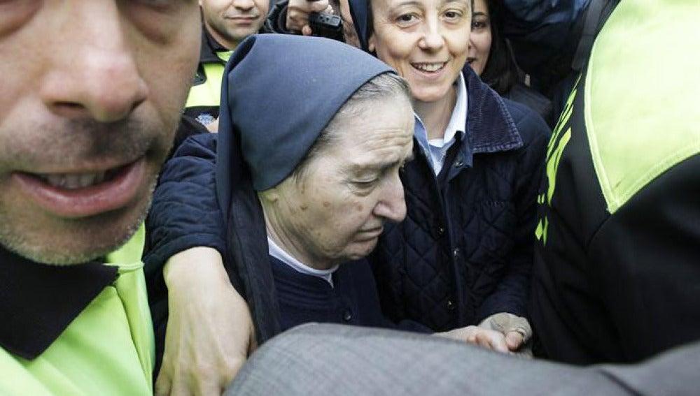 Sor María no ha querido declarar durante su comparecencia ante el juez
