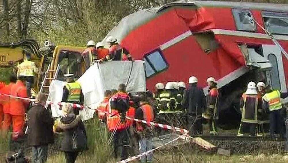 Un accidente de tren en Alemania deja tres muertos