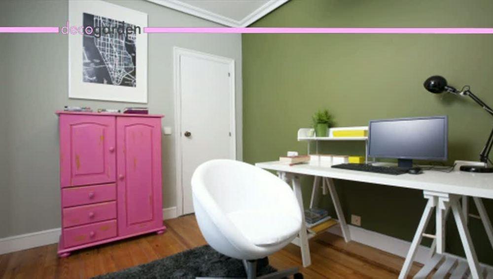Una moderna oficina en casa
