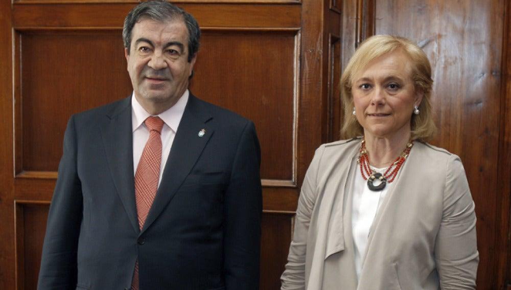 Álvarez Cascos y Cherines, antes de su encuentro
