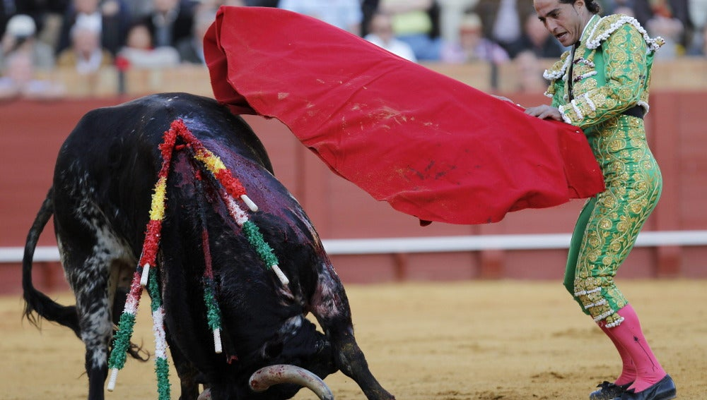 Ivan Fandiño en la Feria de Abril