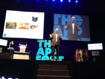 Richard Gerver en la ponencia sobre Educación de The App Fest
