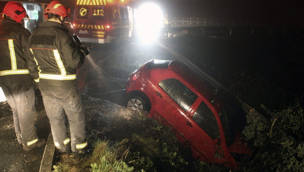 Accidente en Pontevedra