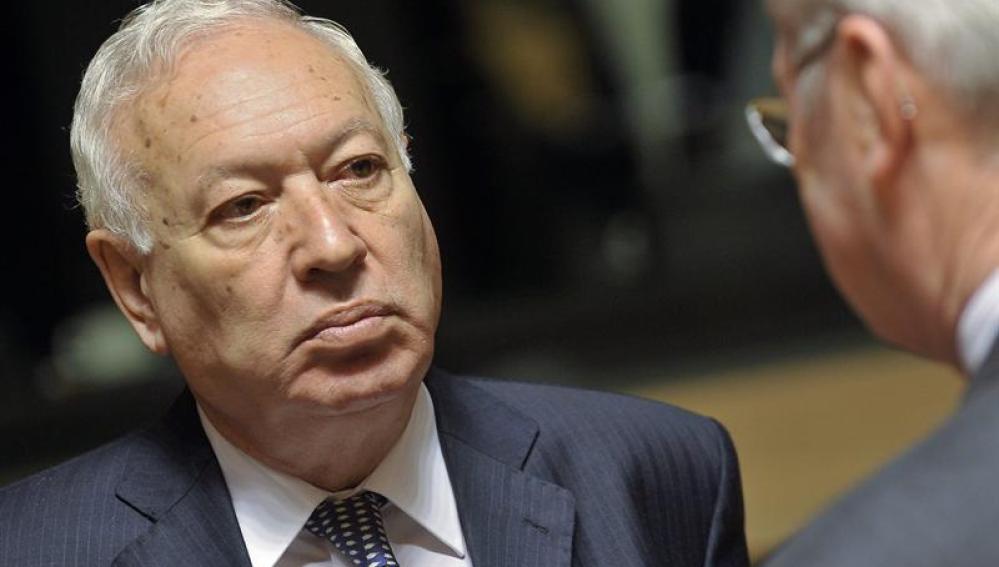 El ministro español de Asuntos Exteriores, José Manuel García-Margallo