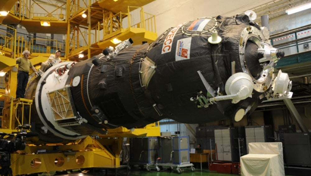El carguero ruso Progress  se acopla con éxito a la estación internacional