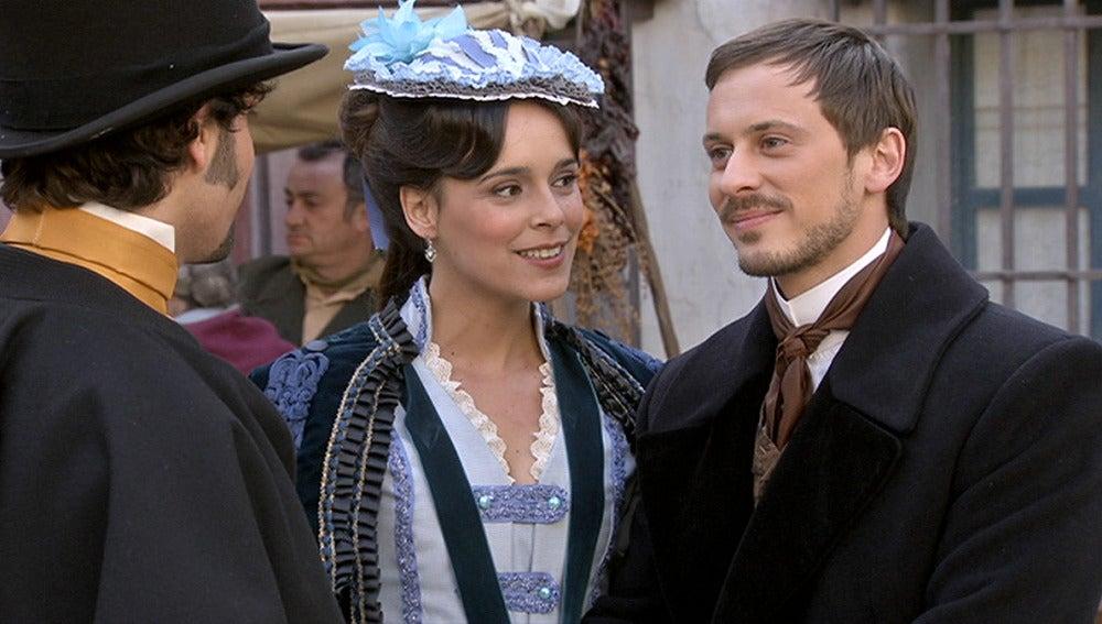 Pablo y Elisa llegan a Arazana