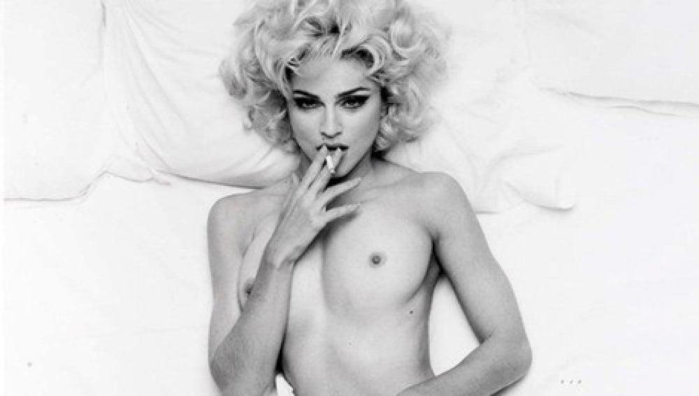 Desnudo inédito de Madonna