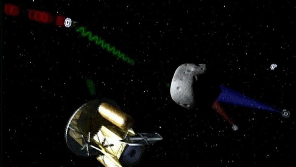 Extracción de minerales en asteroides