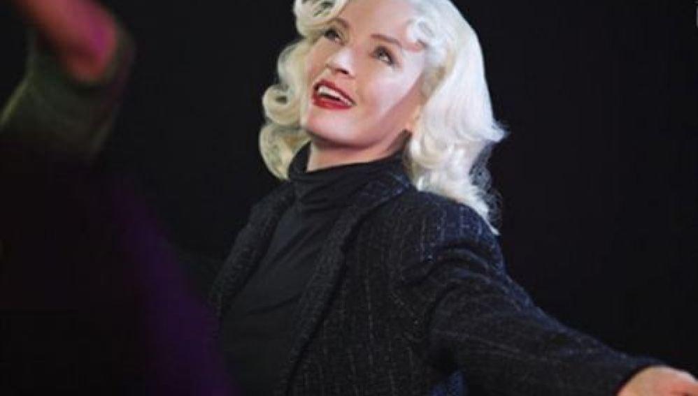 Uma Thurman es Marilyn Monroe