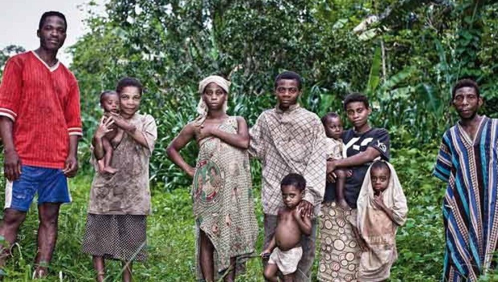 Una tribu de pigmeos africanos