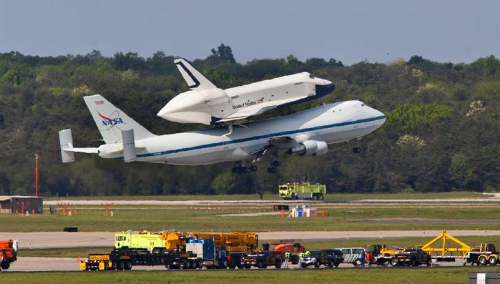 El último vuelo del transbordador Enterprise
