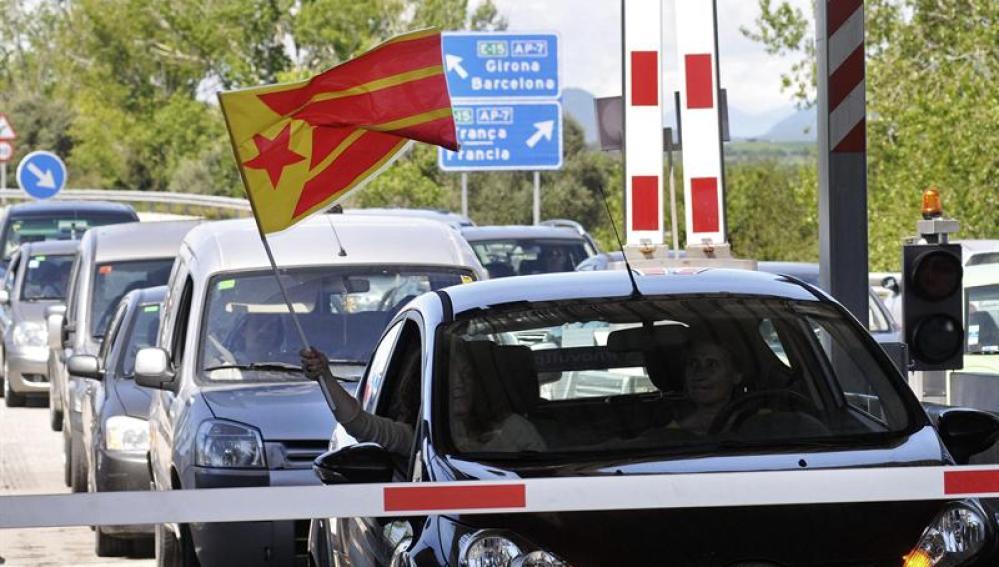 Los conductores se niegan a pagar en las autopistas catalanas