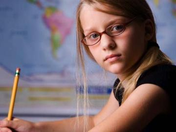 Niña estudiante