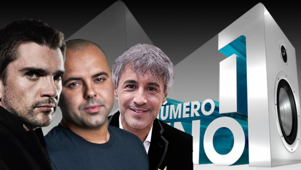Juanes, Juan Magán y Sergio Dalma