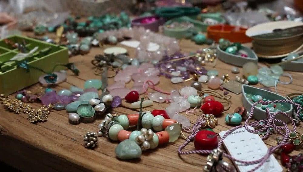 Joyas y piedras de Verdeagua Alhajas