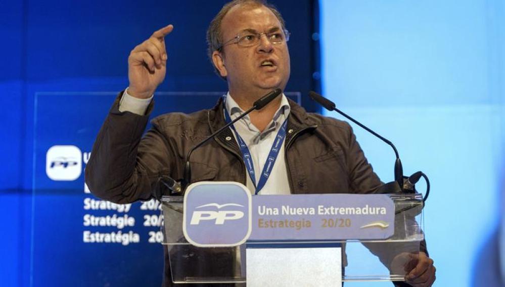 José Antonio Monago, presidente de Extremadura