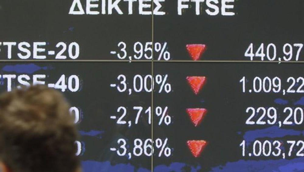 Bolsa griega