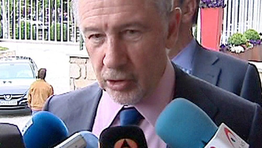 Rodrigo Rato comparece ante los medios