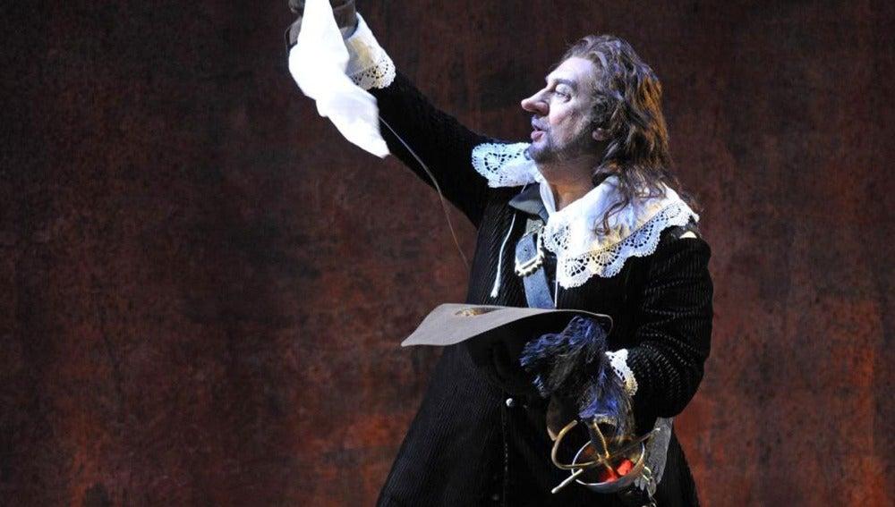 Placido Domingo como Cyrano de Bergerac
