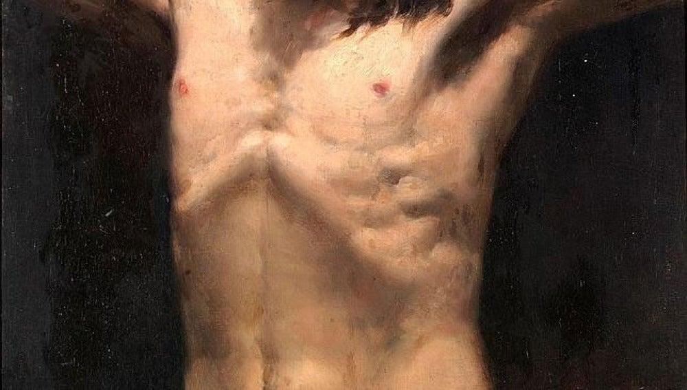 El cuadro atribuido ahora a Joaquín Sorolla