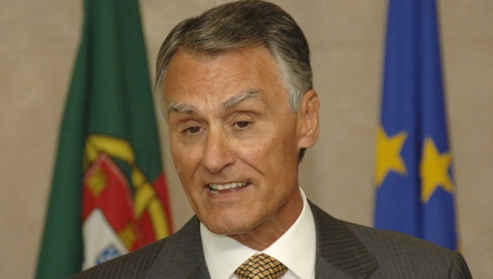 Aníbal Cavaco, presidente de Portugal