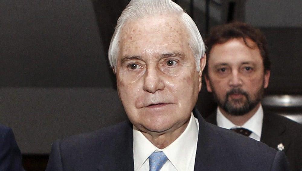 Carlos Dívar, presidente del Tribunal Supremo