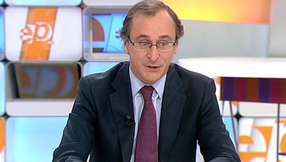 Alfonso Alonso en Espejo Público