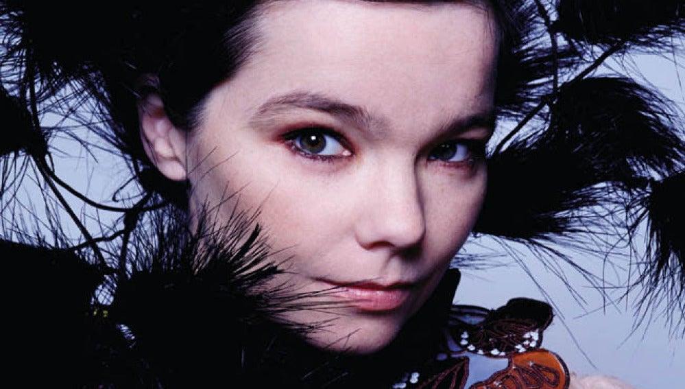 Imagen de archivo de la cantante islandesa Björk.