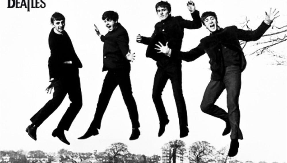 Los Beatles en una imagen promocional de la época.