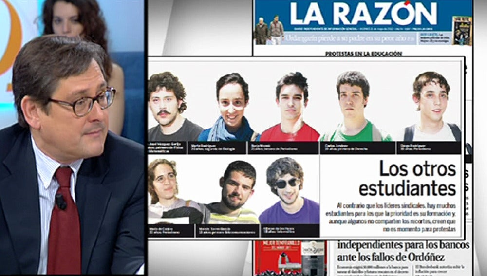Antena 3 tv paco marhuenda director de la raz n estoy for Espejo publico hoy completo