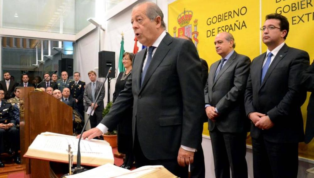 El delegado del Gobierno en Extremadura, Alejandro Ramírez del Molino