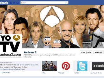 Antena 3, el medio con más seguidores en Facebook.