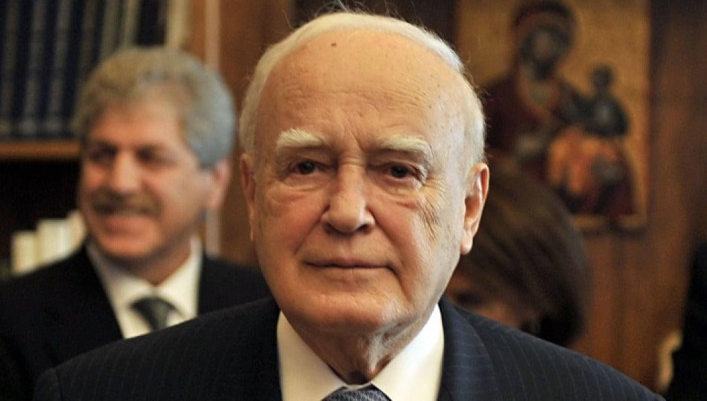 Karolos Papulias, presidente de la República