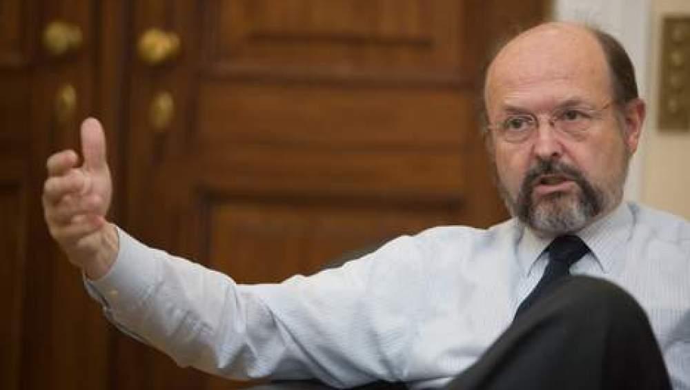 Luc Coene, gobernador del Banco de Bélgica