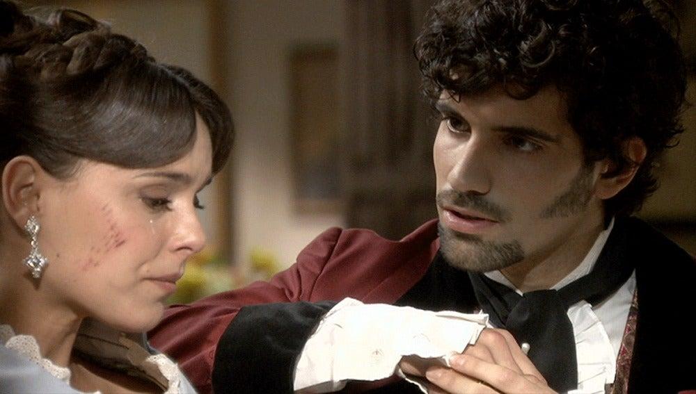 Elisa se consuela con Alejandro