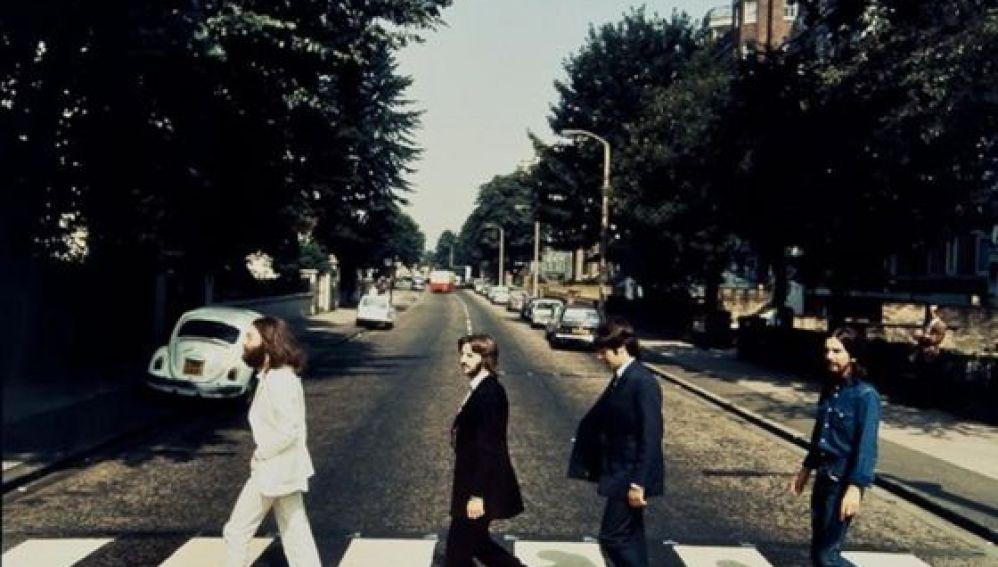 Foto de Abbey Road al revés