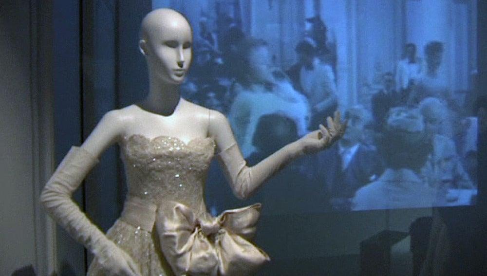 Uno de los diseños de Christian Dior