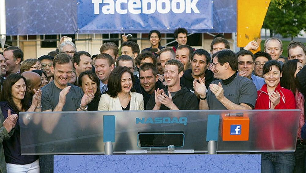 Zuckerberg hace sonar la campana del Nasdaq
