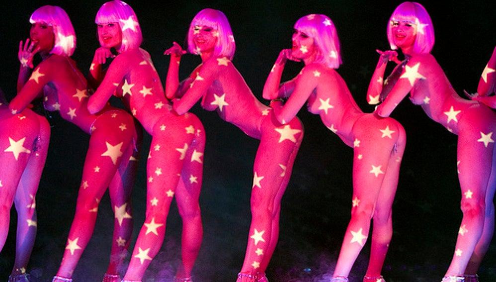 Bailarinas de 'Crazy Horse' de París