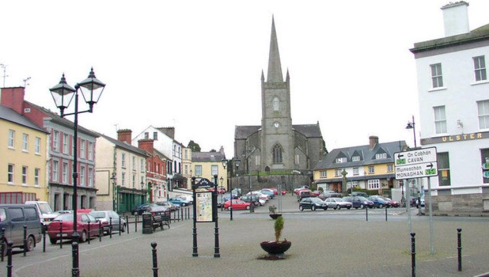 Plaza de Clones en Irlanda