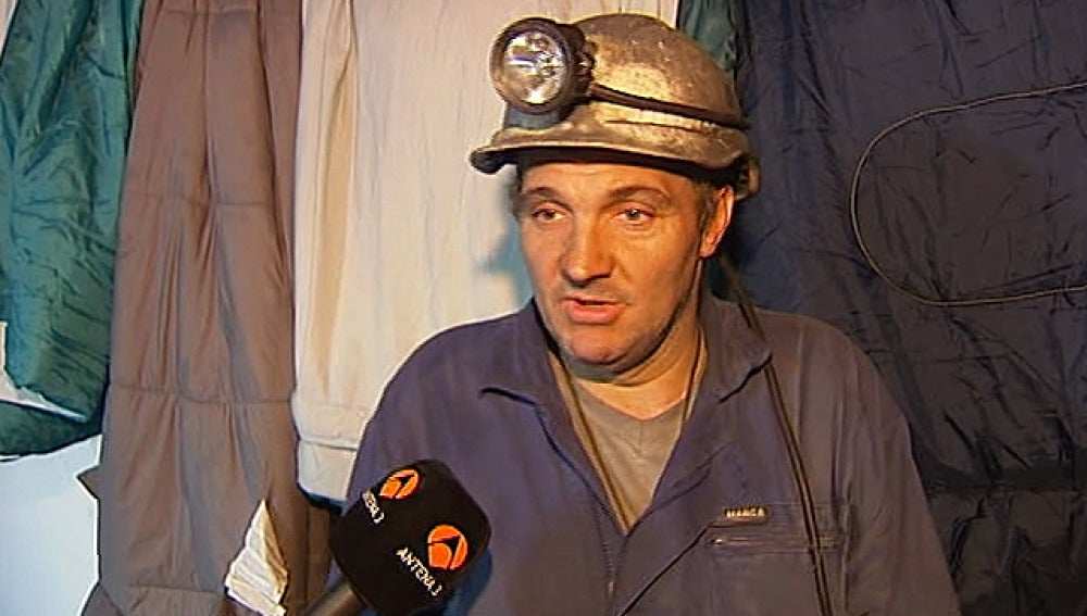 Minero reclama ayudas al carbón