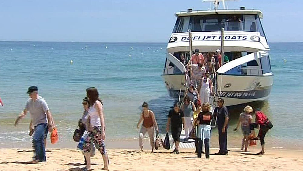 Touroperadores rusos en la Costa Brava