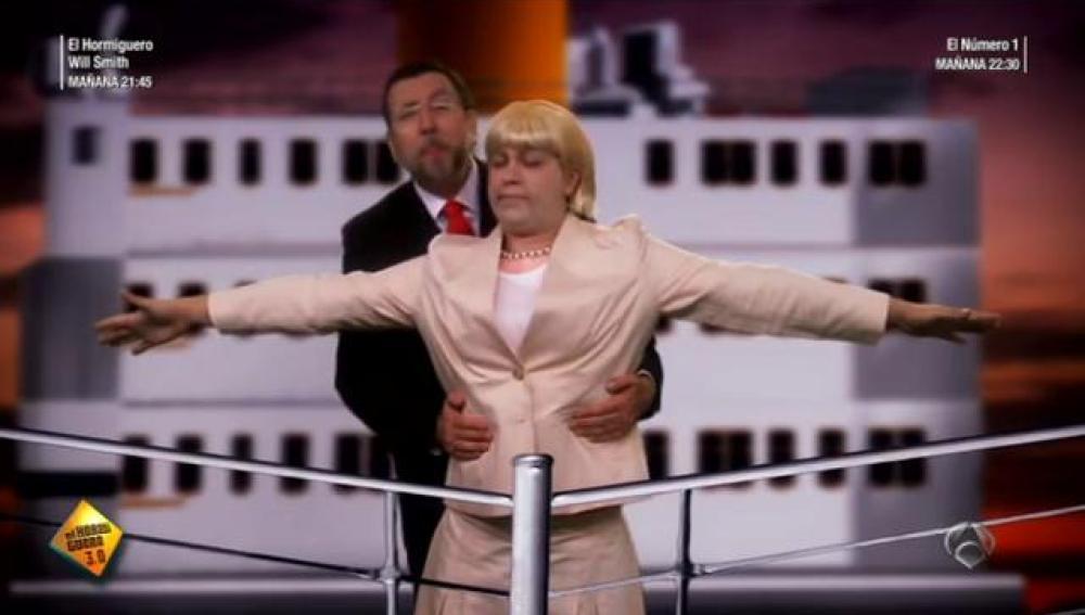 Rajoy y Merkel en Teutonic