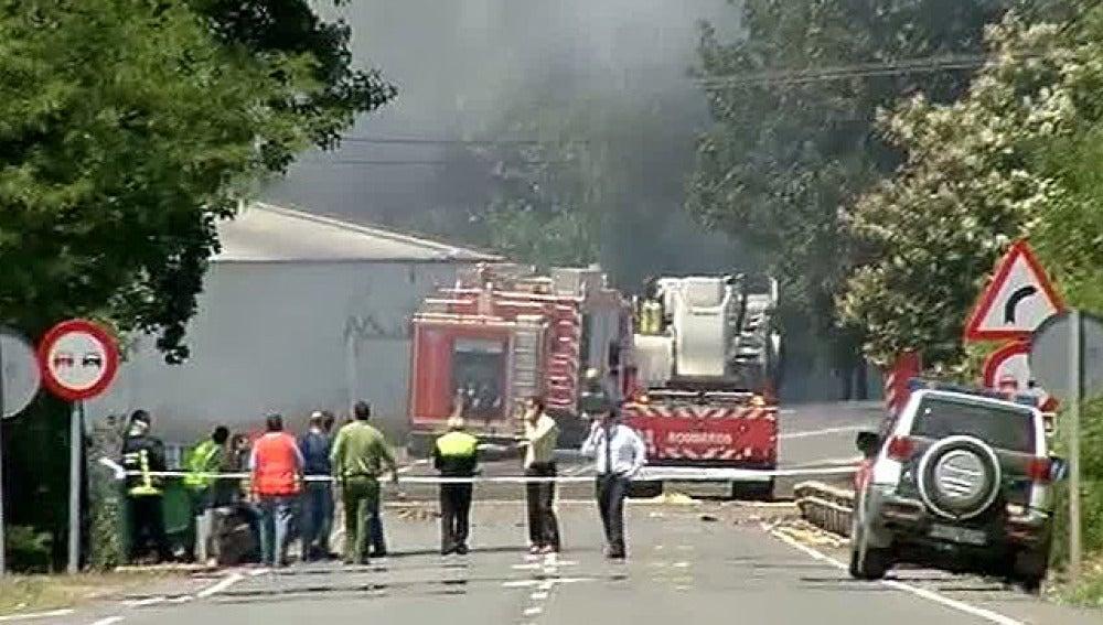 Explosión en una almazara en Cáceres