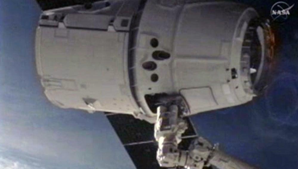 Foto de la NASA desde la EEI