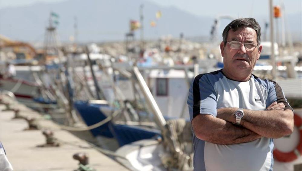 Pescador en Algeciras
