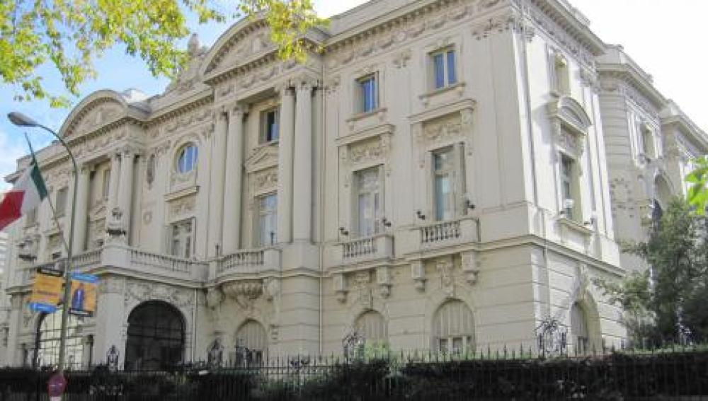 La embajada de Italia en Madrid