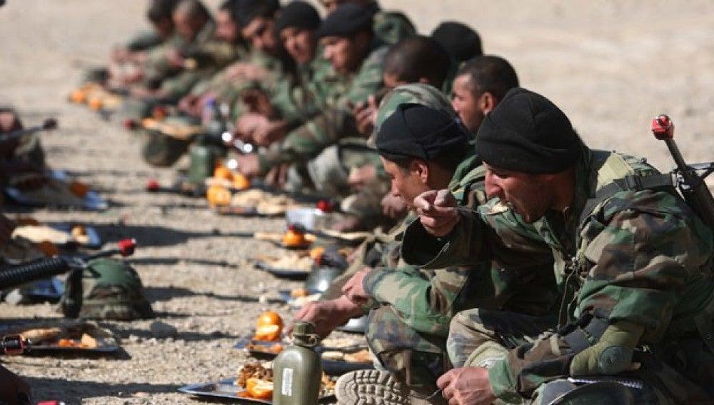 Los militares del Ejército de Tierra pagarán la mitad de su menú desde el próximo 1 de julio
